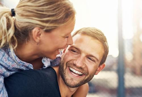 Couple with Teeth Whitening in White Bear Lake MN