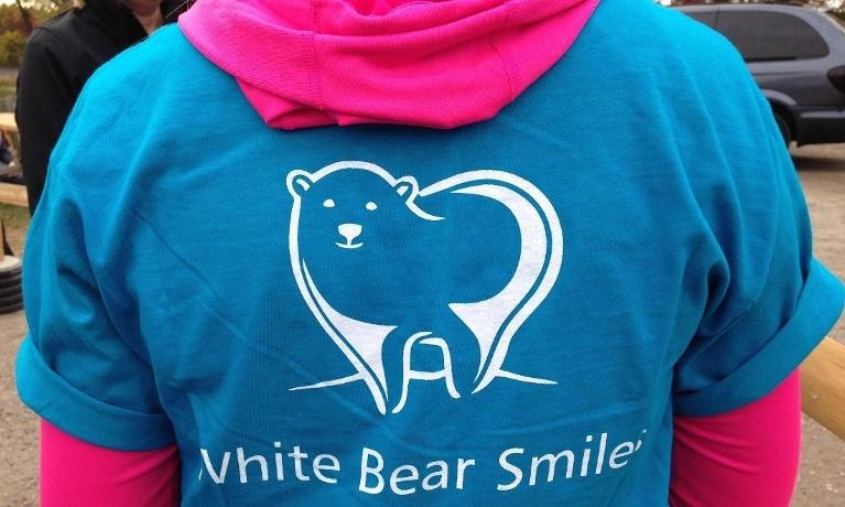 A White Bear Smiles official t-shirt